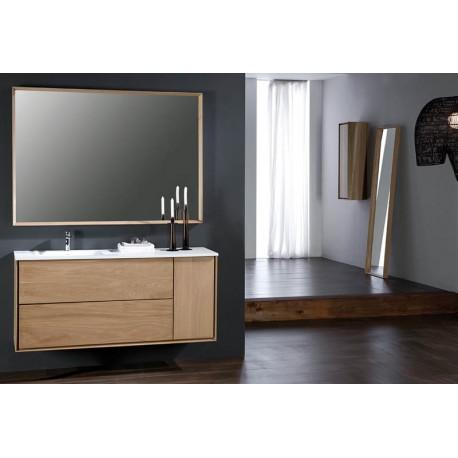 Miroir horizontal PRENN en bois massif